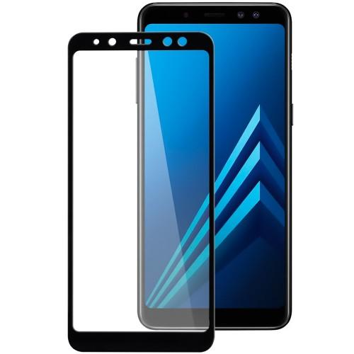 Защитное стекло 3D для Samsung Galaxy A8 (2018) A530 Black