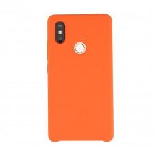 Силиконовый чехол Original Case Xiaomi Mi8 (Оранжевый)