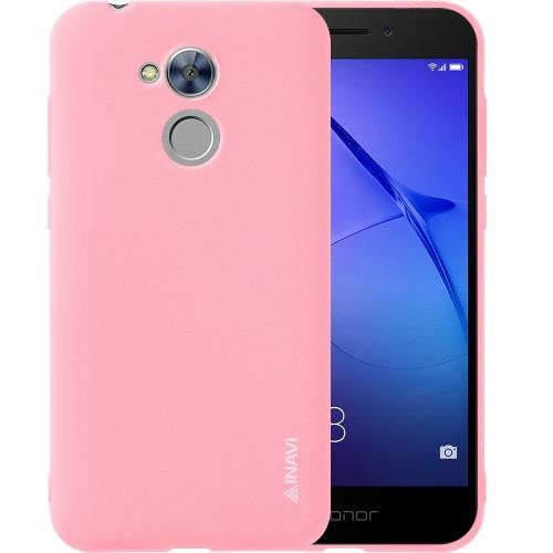 Силиконовый чехол iNavi Color Huawei Honor 6a (розовый)