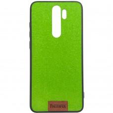 Силикон Remax Tissue Xiaomi Redmi Note 8 Pro (Зеленый)