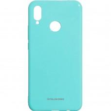 Силиконовый чехол Molan Shining Huawei P Smart Plus (Бирюзовый)