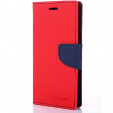 Чехол-книжка Goospery Canvas Diary Xiaomi Redmi 4 (Красный)
