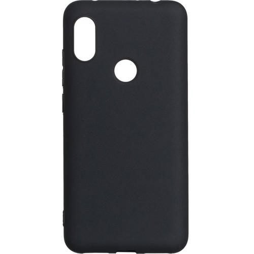 Силиконовый чехол Multicolor Xiaomi Redmi Note 6 / Note 6 Pro (черный)