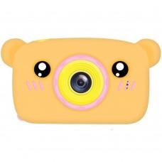 Детская фотокамера Baby Photo Camera Bear (Orange) Gadgik