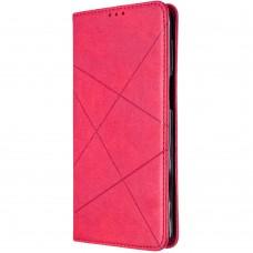 Чехол-книжка Leather Book Xiaomi Poco M3 / Redmi 9T (Розовый)