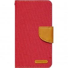 Чехол-книжка Goospery Canvas Diary Meizu  M5 Note (Красный)