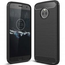 Силикон Polished Carbon Motorola X4 (Чёрный)