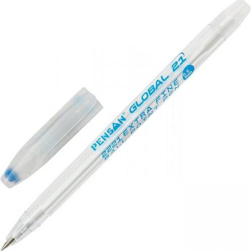 Ручка масляная GLOBAL 21 (Синяя)