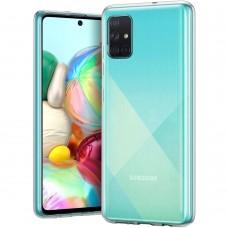 Силикон Virgin Case Samsung Galaxy A71 (2020) (прозрачный)