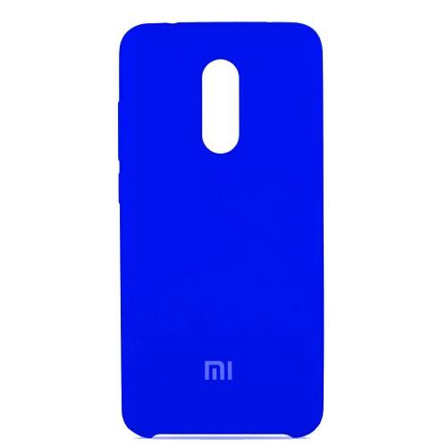 Силикон Original Case Xiaomi Redmi 5 Plus (Синий)