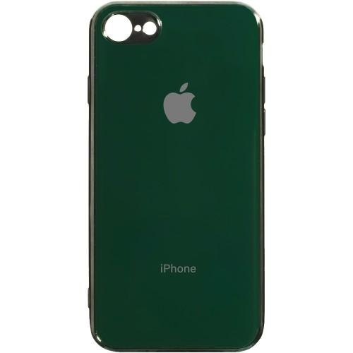 Силиконовый чехол Zefir Case Apple iPhone 7 / 8 (Темно-зелёный)