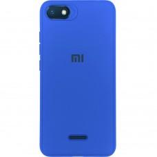 Силикон Junket Case Xiaomi Redmi 6a (Синий)