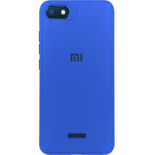 Силиконовый чехол Junket Case Xiaomi Redmi 6a (Синий)