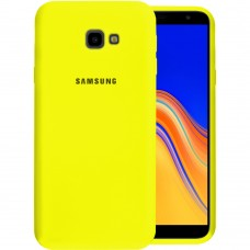 Силикон Original Case Samsung Galaxy J4 Plus (2018) J415 (Жёлтый)