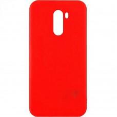 Силиконовый чехол Multicolor Xiaomi Pocophone F1 (красный)