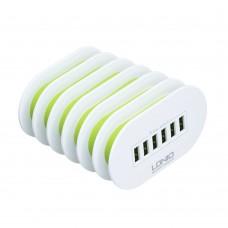 Сетевой удлинитель LDNIO A6702 (6 USB)