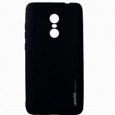 Силиконовый чехол SMTT Xiaomi Redmi Note 4 (черный)