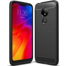 Силикон Polished Carbon Motorola G7 Power (Чёрный)