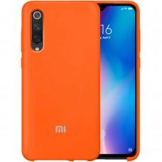 Силикон Original Case Xiaomi Mi9 SE (Оранжевый)