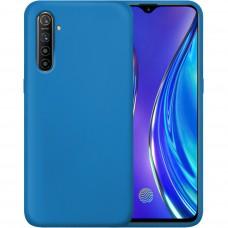 Силикон Original Case Xiaomi Realme XT (Кобальт)