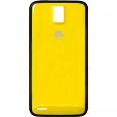Чехол Huawei Ascend D1 Quad (Чёрно-желтый)