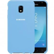 Силикон Original Case HQ Samsung Galaxy J3 (2017) J330 (Светло-голубой)