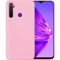 Силикон Original Case Xiaomi Realme 5 Pro (Розовый)