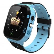 Детские смарт-часы Smart Baby Watch GM9 (Black-Blue)