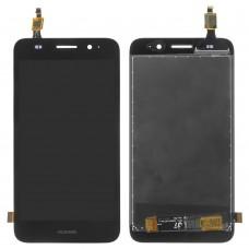 Дисплейный модуль Huawei Y3 (2017)/Y5 Lite (2017) (Black) (CRO-U00/CRO-L02/CRO-L22), с тачскрином