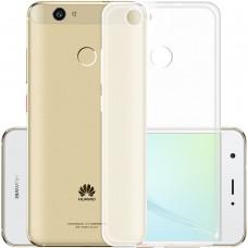 Силикон WS Huawei Nova (прозрачный матовый)