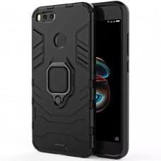 Бронь-чехол Ring Armor Case Xiaomi Mi A1 / Mi5x (Чёрный)