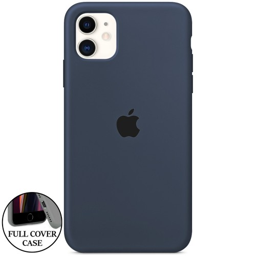 Силикон Original Round Case Apple iPhone 11 (11)