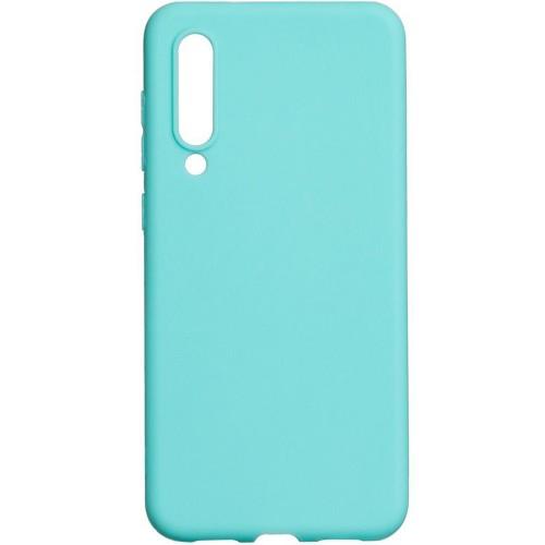 Силиконовый чехол iNavi Color Xiaomi Mi9 SE (Бирюзовый) (уценка) 1 категория