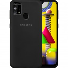 Силикон Original Case Samsung Galaxy M31 (2020) (Чёрный)
