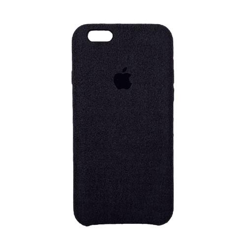 Чехол Alcantara Cover Apple iPhone 6 / 6s (Чёрный)