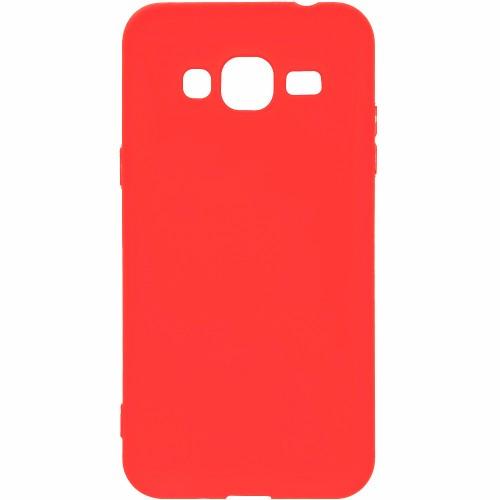 Силикон iNavi Color Samsung Galaxy J3 (2016) J320 (красный)