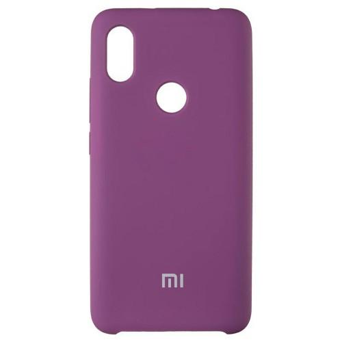 Силиконовый чехол Original Case Xiaomi Mi6x / Mi A2 (Фиолетовый)