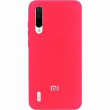 Силикон Original Case (HQ) Xiaomi Mi9 Lite / Mi CC9 (Малиновый)