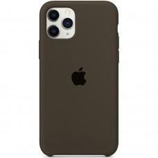 Силикон Original Case Apple iPhone 11 Pro Max (03) Dark Olive