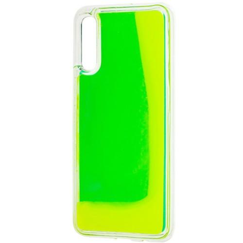 Чехол Aquarium Color Sand Samsung Galaxy A30S / A50 / A50S (Зелёный)
