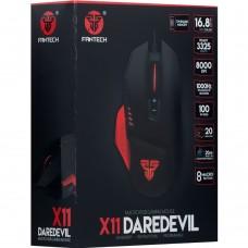 мышь проводная USB Fantech X11 Daredevil (Чёрный)