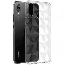 Силиконовый чехол Prism Case Huawei P Smart Plus / Nova 3i (прозрачный)