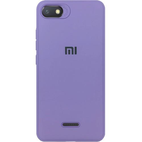 Силиконовый чехол Junket Case Xiaomi Redmi 6a (Фиолетовый)