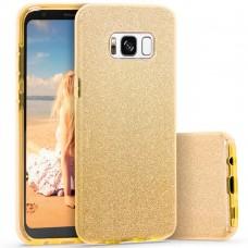 Силикон Glitter Samsung Galaxy S8 Plus (Золотой)
