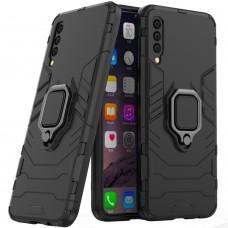 Бронь-чехол Ring Armor Case Samsung Galaxy A30s / A50 / A50s (2019) (Чёрный)