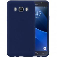 Силикон iNavi Color Samsung Galaxy J7 (2016) J710 (тёмно-синий)