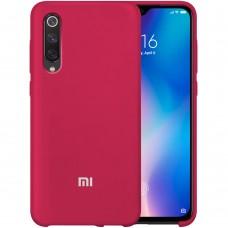 Силикон Original Case Xiaomi Mi9 SE (Бордовый)