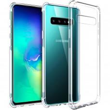 Силикон 6D Samsung Galaxy S10 (Прозрачный)