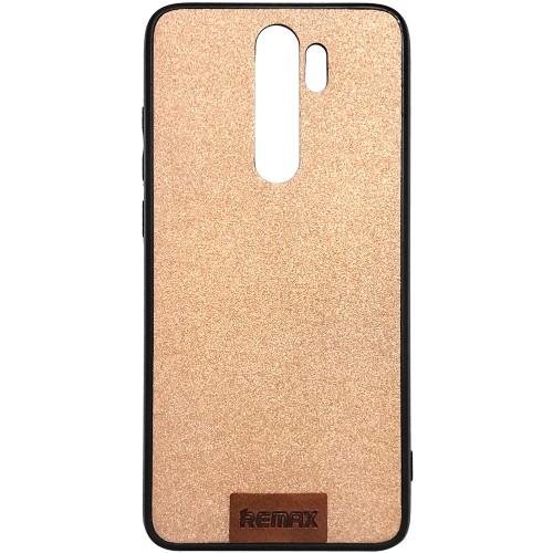 Силикон Remax Tissue Xiaomi Redmi Note 8 Pro (Бронзовый)
