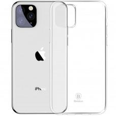 Накладка Baseus Simple Case Apple iPhone 11 Pro Max (прозрачный)